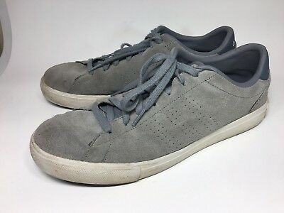 premium selection e9eb6 ecba0 Adidas NEO Label Ortholite RARE Skate Granite GrayBlack MENS Shoes size 11