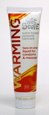 Wet Stuff Warming Water Based Personal Lubricant 100ml
