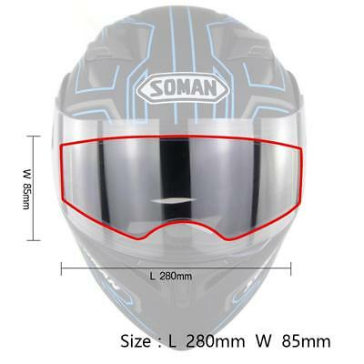 Universal Anti-Fog Helmet Lens Film for Motorcycle Full Face Helmet Visor Films