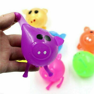 Jello Pig Cute Anti Stress Splat Water Pig Ball Vent Toy Venting Sticky Smash FO