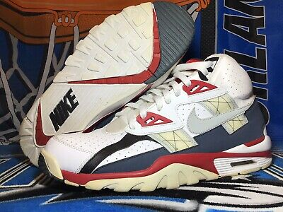 83d87d1cec1 Nike Air Trainer SC HI Men s Basketball Shoes 302346-119 SZ 12 Bo Jackson