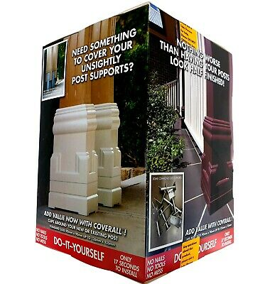 Fedtrim Cover All Federation Heritage Plastic Verandah Post Coverall Paintable