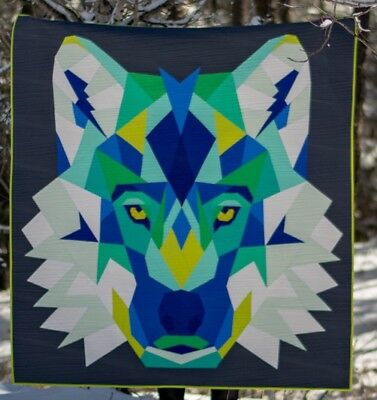 """Violet Craft - Wolf Abstractions Quilt Kit 60"""" X 65"""""""