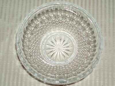 NEW Waterford IRISH Crystal COLLEEN Small heavy condiment whipped cream bowl A++