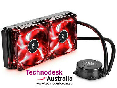 DEEPCOOL MAELSTROM 240T CPU Liquid Cooler AIO Water Cooling With 120mm PWM Fan R