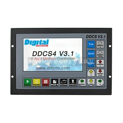 4 Axis Motion Controller Offline CNC 500KHz Standalone Control Digital DDCS V3.1