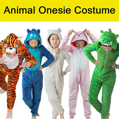 Kids Kingurumi Animal Sleepwear Unisex Pyjamas Pajamas Cosplay Costume Sleepwear