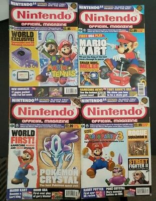 Nintendo Official Magazine Issue 97, 108, 109, 111 Bundle