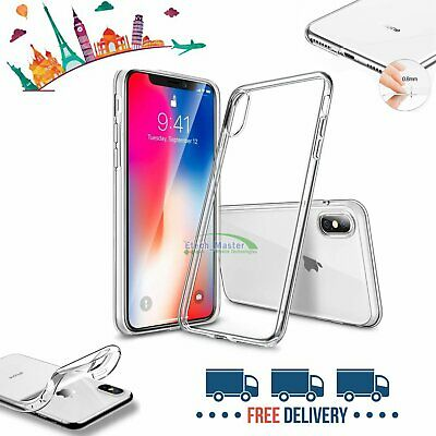 Case for iPhone 6 8 7 Plus XR XS MAX ShockProof Soft Phone Cover TPU Silicone UK