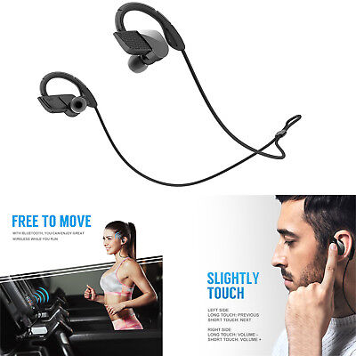 Sport In-Ear Wireless Earphones Bluetooth 4.1 HD Stereo Headphones Headsets 2019