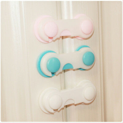 1x Baby Drawer Lock Kid Security Protect Cabinet Toddler Child Safety Lock  Pq