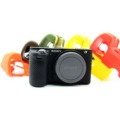 Rubber Silicone Skin Case Cover Bag For Sony A72 A5100 A6000 A6300 A6500 Camera