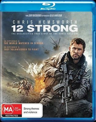 12 Strong Blu-Ray : NEW