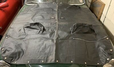 NOS MG Midget AH Sprite tonneau cover with headrest pockets1967-80 CHA675