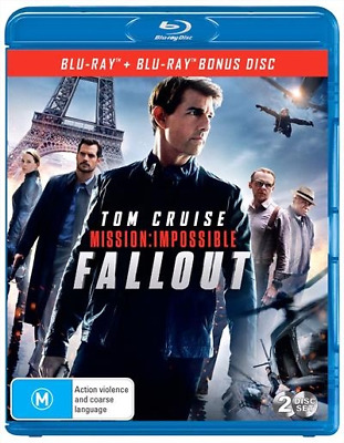 Mission Impossible - Fallout (Blu-ray, 2-Disc Set) NEW