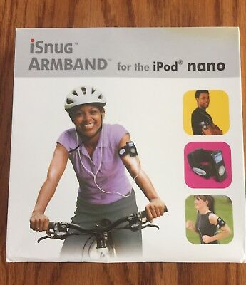 HandStands iSnug Armband for iPod Nano  (Black)