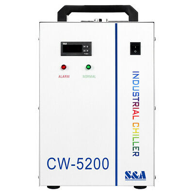 USA! 110V CW-5200DH Industrial Water Chiller for 130-150W CO2 Glass Laser Tube