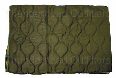 Genuine Israeli GI IDF Surplus PONCHO LINER Military Green Woobie Blanket LN