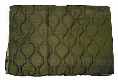 Genuine Israeli GI IDF Surplus PONCHO LINER Military Green Woobie Blanket VGC