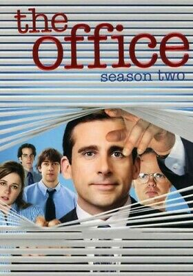 The Office: Season 2, Acceptable DVD, John Krasinski, Jenna Fischer, Rainn Wilso