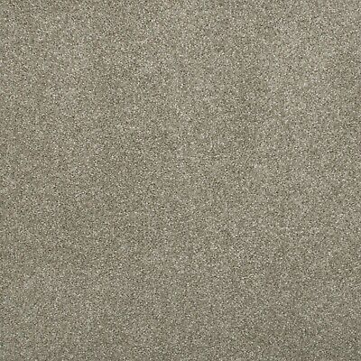 Mink Luxury 17mm Saxony Actionback Carpet Flecked Hard Wearing Lounge Bedroom