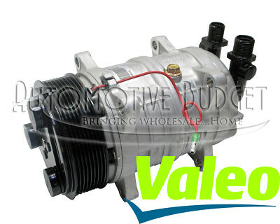 A/C Compressor w/Clutch for Heavy Duty Valeo TM-16, 12v, 8 Grooves - NEW OEM