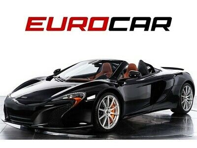 2015 650S Spider 2015 McLaren 650S Spider, ONLY 6700 MILES! IMMACULATE CONDITION!