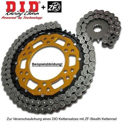 DID 520NZ Clip Kettensatz Stealth Husqvarna TE410, Bj. 1999