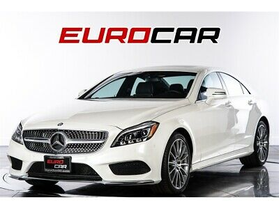 2017 CLS-Class CLS 550 2017 Mercedes-Benz CLS 550  AMG SPORT PACKAGE! 1 OWNER CALIFORNIA CAR!!