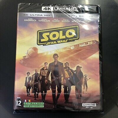 Solo A Star War Story 4K  Ultra Hd Blu Ray   Neuf Scelle
