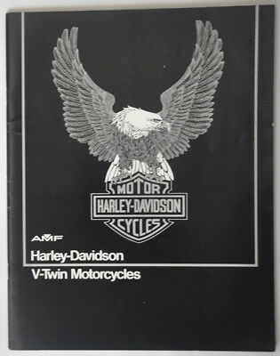 Catalogue Harley Davidson 1978 (US)