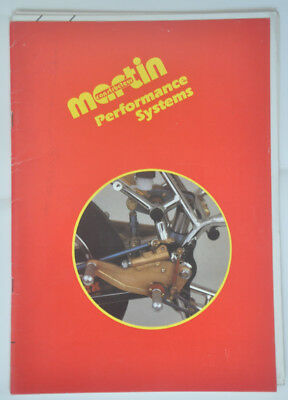 Catalogue MARTIN Performance Systems 1986