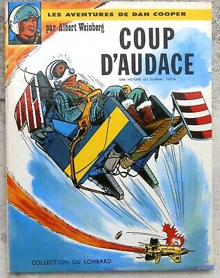 Dan Cooper Coup d'Audace EO 1963 très proche Neuf + point Tintin Weinberg