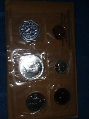 U.S .Silver  Proof Sets  90% Silver Uncirculated Proof Sets (3-1962,2-1964)