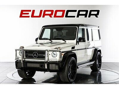 """2017 G-Class AMG G 63 2017 Mercedes-Benz AMG G 63  DESIGNO EXCLUSIVE  PACKAGE, NEW 24"""" WHEELS 1 OWNER!"""