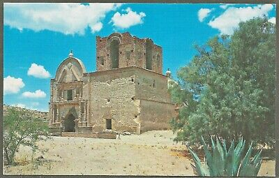 Mission Church of TUMACACORI NATIONAL MONUMENT Arizona 1970 PC by Petley Studios