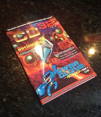 CD32 Scene Fanzine Issue 2 (Amiga, Magazine, Commodore, Retro Games)