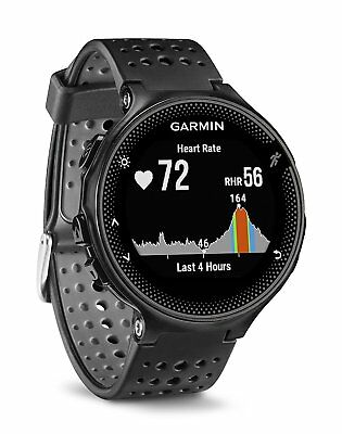 Garmin Forerunner 235 GPS Running Watch w/ Wrist Heart Rate Monitor BLACK/GREY