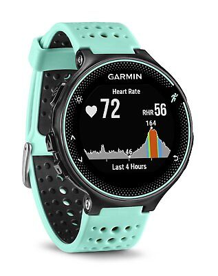 Garmin Forerunner 235 GPS Running Watch w/ Wrist Heart Rate Monitor BLACK/BLUE
