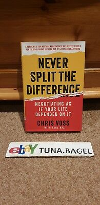 Never Split the Difference: Negotiating as If Your Life Depended on It by Chris…