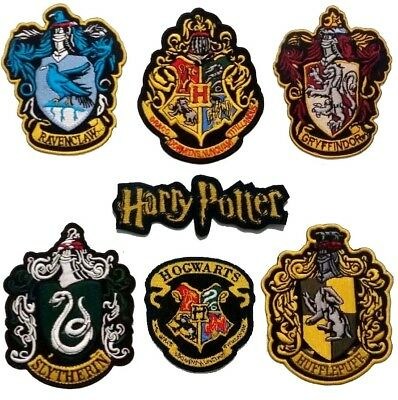 harry potter Large ROB iron on patch Gryffindor Slytherin Hufflepuff Ravenclaw