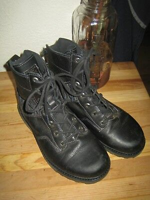 e1783e8b12cd Volcom Hemlock ankle Boots Black Size 7.5 US Women s Stone Row Collection  EUC!