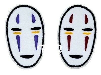 Spirited Away No Face Embroidered Iron On Sew On Patch Badge For Clothes Etc 1 99 Picclick Uk