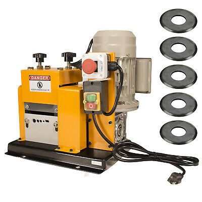 Steel Dragon Tools® WRA20 Wire Stripping Machine with 5 Extra Cutting Wheels