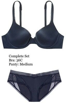 9a36aee317ce Body By Victoria's Secret Perfect Shape Full Coverage Blue Bra Panty Set M  36C