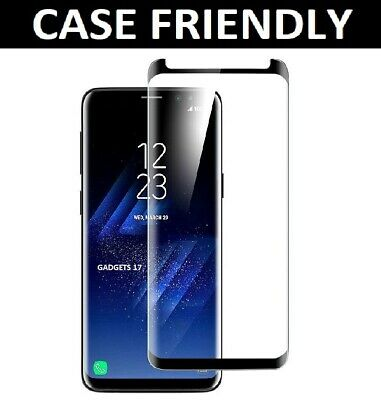 Glass Screen Protector For Samsung Galaxy S8 - 100% Genuine Tempered