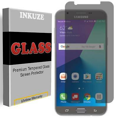Privacy Anti-Spy Tempered Glass Screen Protector For Samsung Galaxy J7 Prime