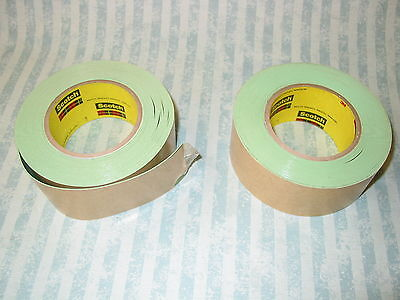 2x rolls 3M Impact Stripping 500 signwriting stencilling masking Tape 9.1m 50mm