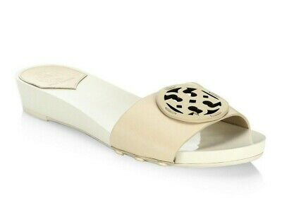 888e6e9bd29e9 NEW Tory Burch Miller 30MM VEG NAPPA LEATHER Slides WOMEN S SANDAL Dolce 8M