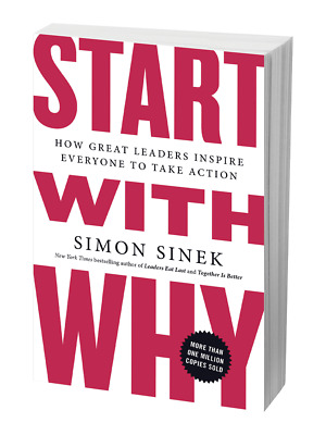 Start with why🔥by Simon sinek🔥Not Physical book ⭐PDF⭐2019